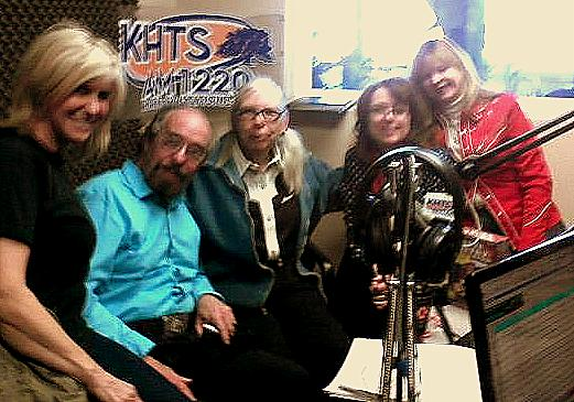 KHTS Radio Around The Barn Hosts with Guests Henry Parke, Karla Buhlman
