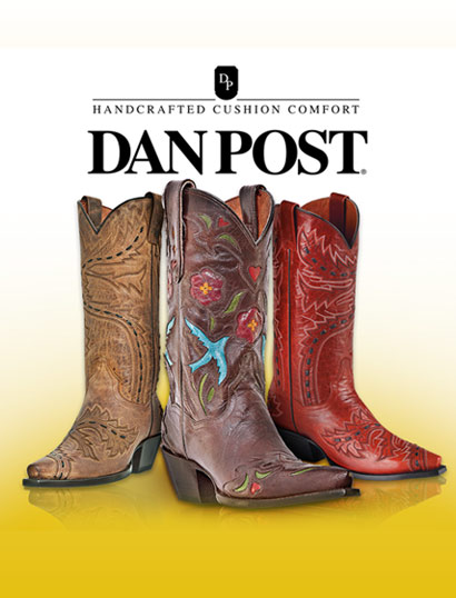 Dan Post Boot Collection for Men and Ladies