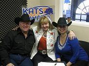 KHTS Radio Around the Barn Guests Terry Brown and HIlda Machado
