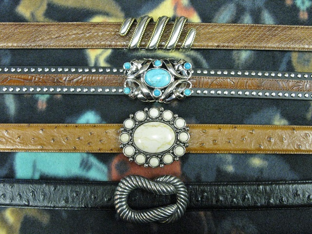 Browse More Terry Stack Interchangeable Belts & Buckles
