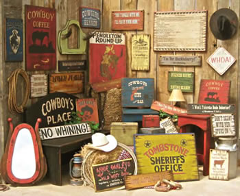 Browse More Old West Wooden Signs
