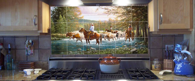 Browse More TXLC Custom Tile Murals and More