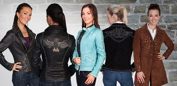 Browse More Leather Jackets & Vests & Skirts