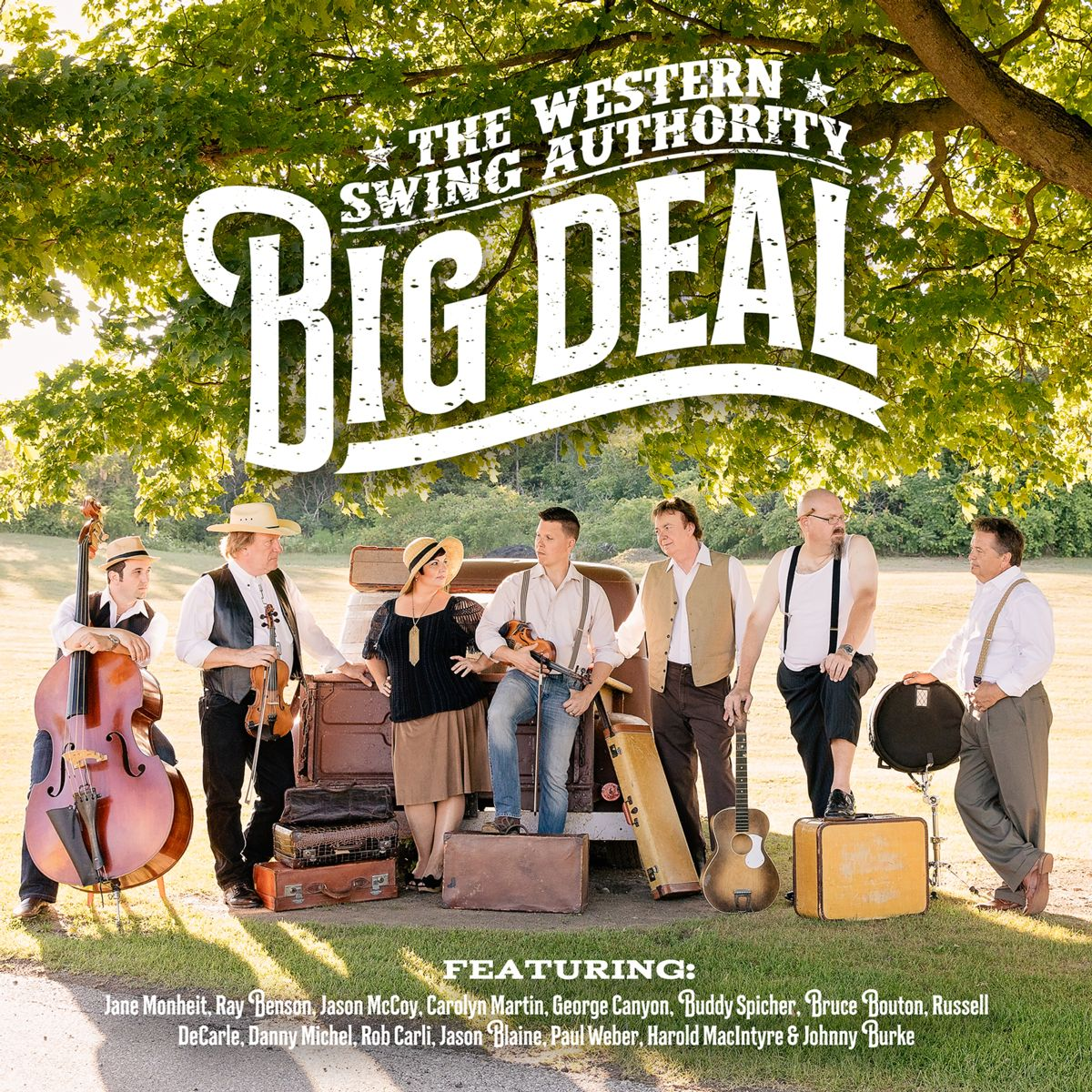 Sept 12, 2019 Western Swing Authority on Campfire Cafe