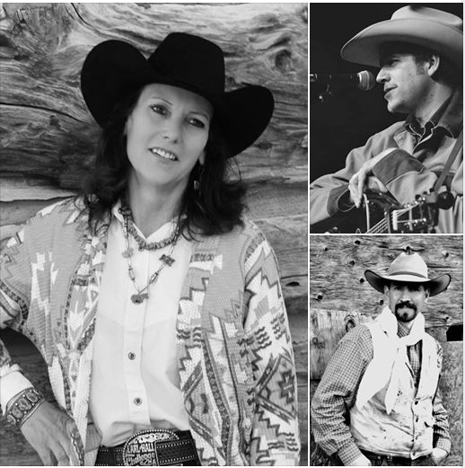 January 17, 2019 Campfire Cafe Guests Deanna Dickenson McCall, Andy Hedges, Ryan Fritz