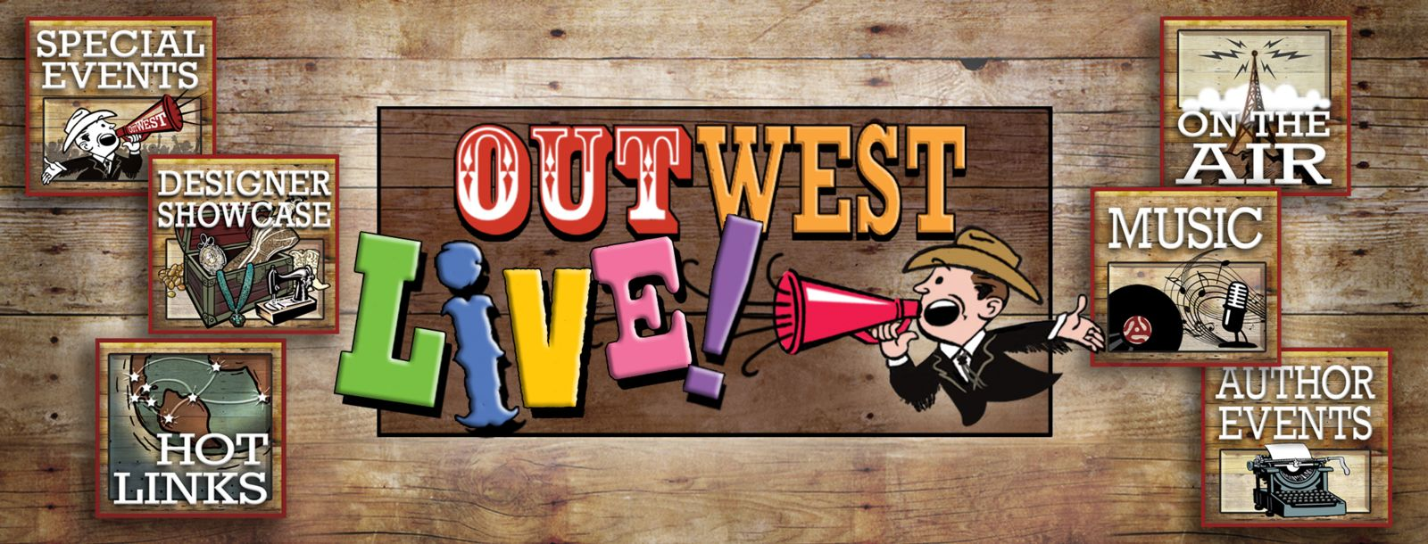 OutWest Live Special Events Page