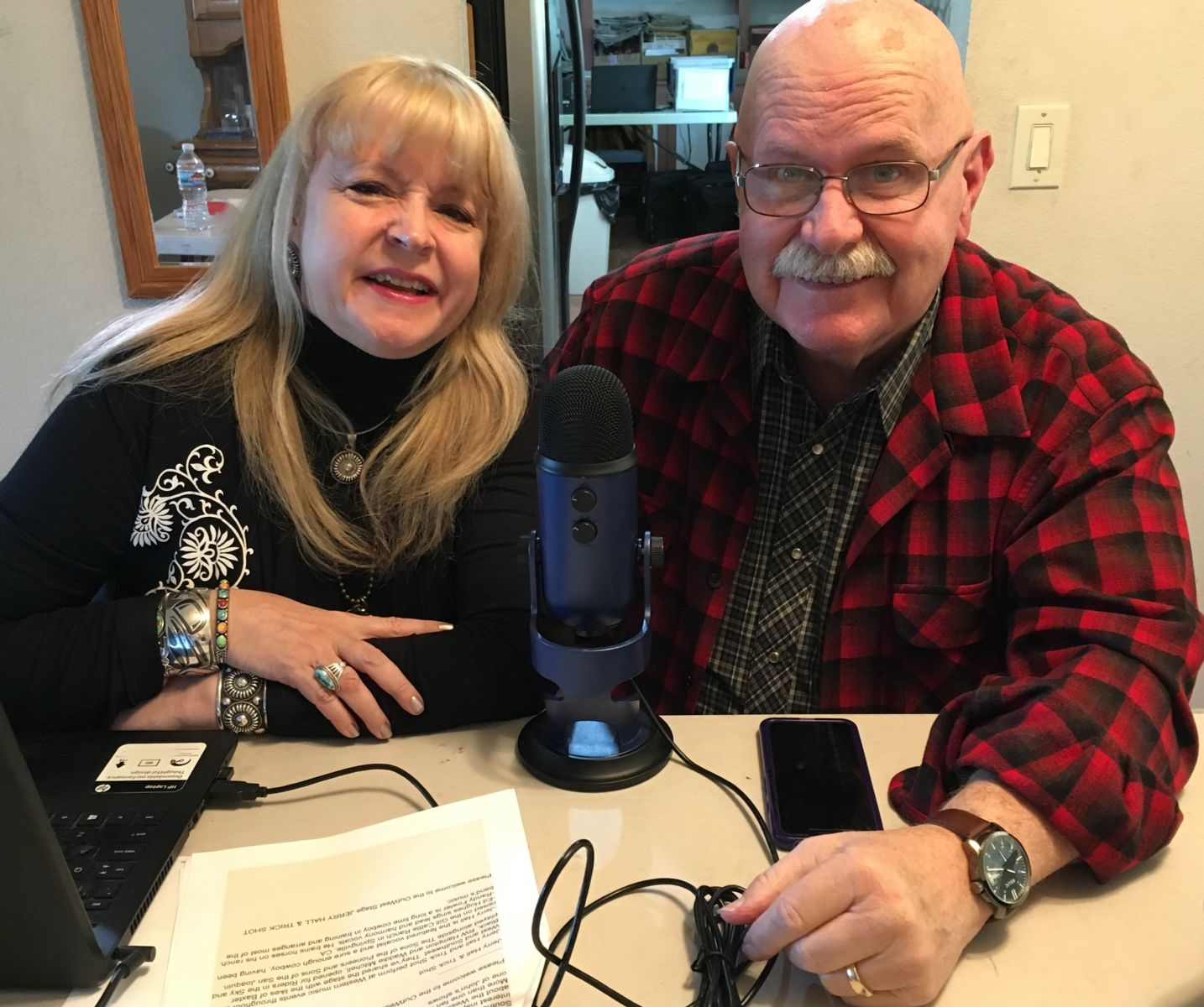 Bobbi Jean Bell and John Bergstrom OutWest Hour Radio, April 20, 2019