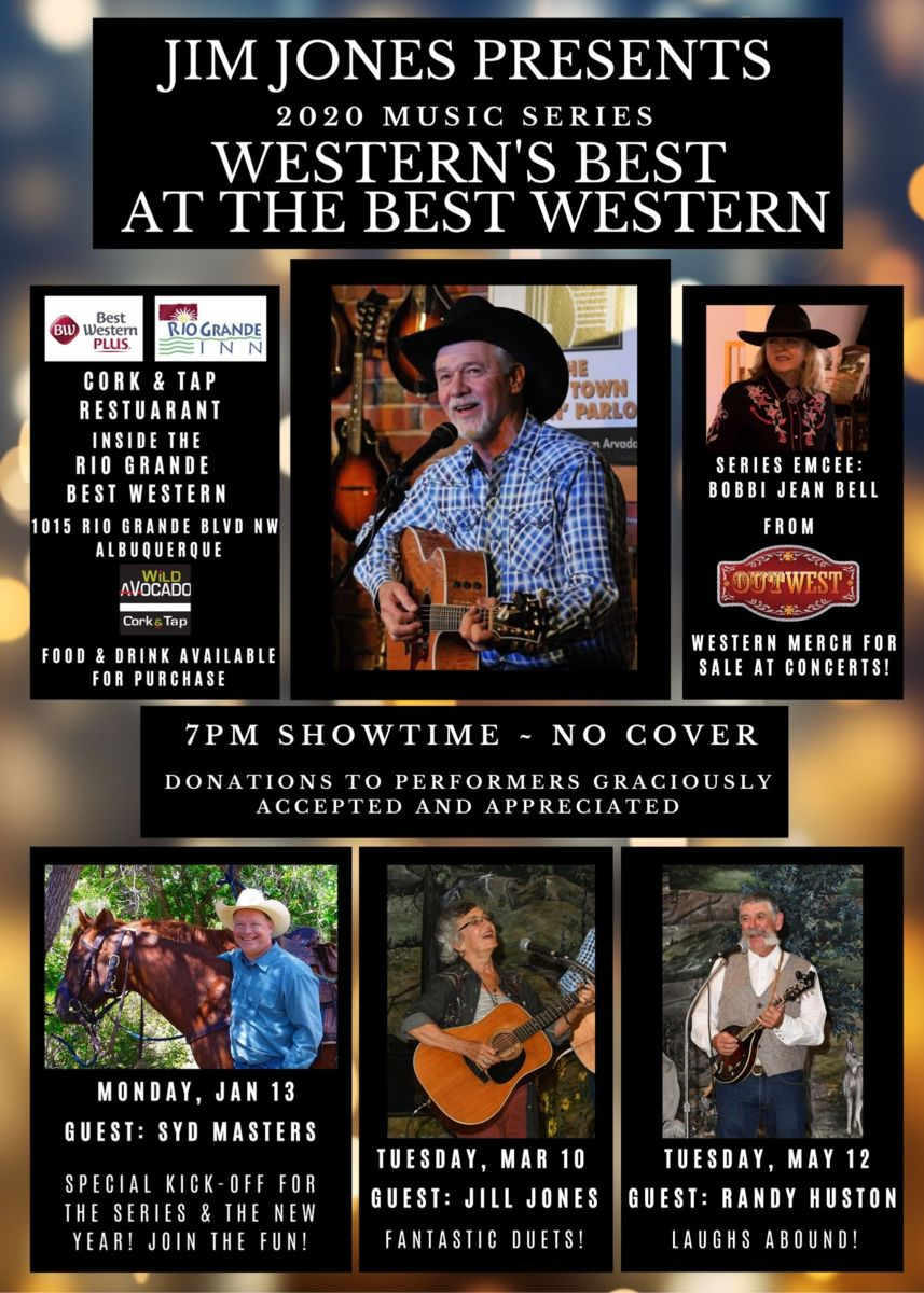 Jim Jones Presents The Western's Best at the Best Western