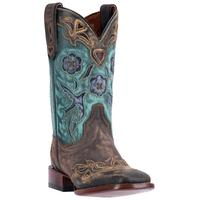 Ladies' Dan Post Boots Cowgirl Certified: Vintage Blue Bird