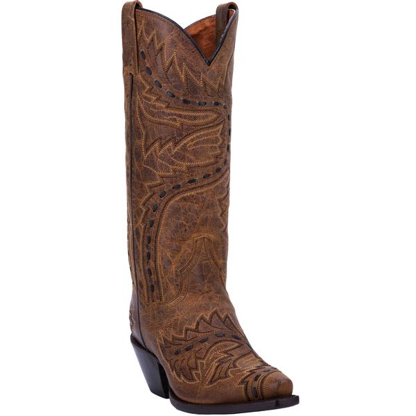 Ladies' Dan Post Boots Western Fashion: Sidewinder Tan