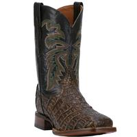 Men's Dan Post Boots Cowboy Certified Exotic: Caiman Everglades Brown