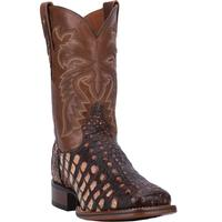 Men's Dan Post Boots Cowboy Certified Exotic: Caiman Everglades Camel