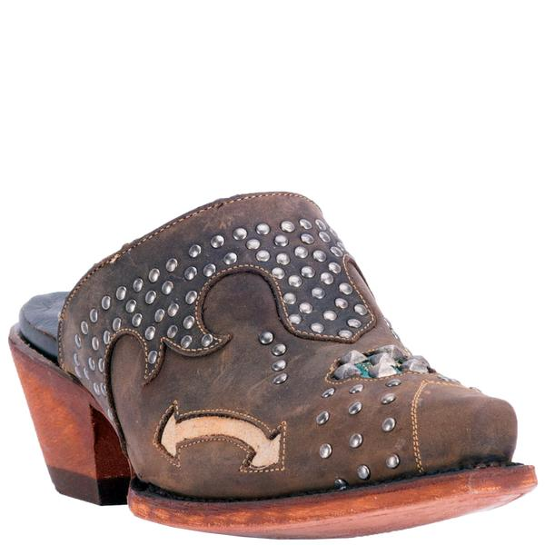 Ladies' Dan Post Boots Western Fashion: Mule Clog Aria SALE