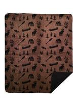 Denali® Rustic Collection: Moose Camp Taupe Reverse to Black