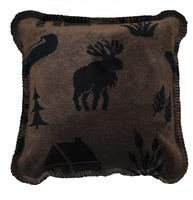 Denali® Rustic Collection: Moose Camp Taupe Pillow