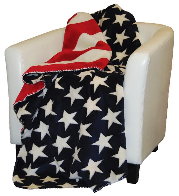Denali Home Collection Americana Stars Stripes Throw Blanket Impressive Stars And Stripes Throw Blanket