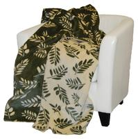 Denali® Your Home Collection: Sage Fern Reverse Pearl Fern Throw Blanket