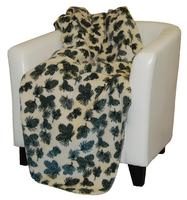 Denali® Your Home Collection: Winter Pine Cones Reverse Pine Throw