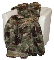 Denali® Your Home Collection: Camouflage Reverse Sage Throw Blanket