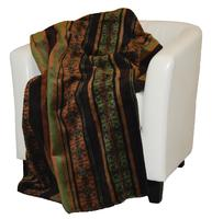 Denali® Your Home Collection: Dark Chocolate Stripes Throw Blanket