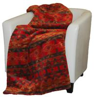 Denali® Western Collection: Earth Spirit Reverse Taupe Throw Blanket
