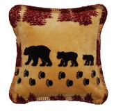 Denali® Rustic Collection: Denali Bear Wheat Pillow