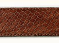 Terry Stack Belts & Buckles: Belt Strap Snake Brown Large