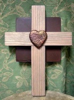 Casa Tranquila Designs: Cross Southwestern Small Cross Square