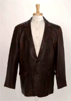 Scully Men's Leather Blazer: Western Sportcoat Jacket Lamb Black Cherry