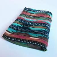 A Rockmount Ranch Wear Blanket: Native American Design Serape Turquoise