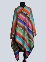 Rockmount Ranch Wear Accessory: Poly Fleece Poncho Stripe