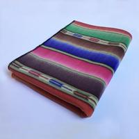 A Rockmount Ranch Wear Blanket: Native American Serape Print