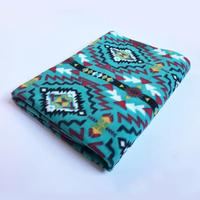 A Rockmount Ranch Wear Blanket: Native American Design Turquoise