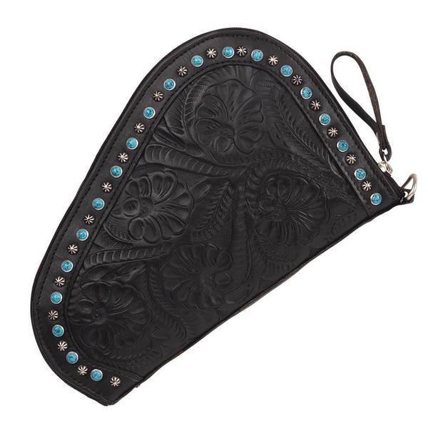 A American West Handbag Collection: Leather Gun Case Black