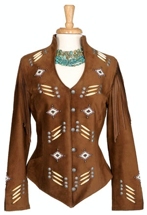 Renegade Spirit Ladies' Jacket: Song of the Plains Suede