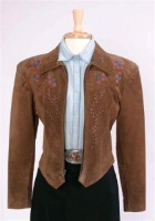 ZSold Renegade Spirit Ladies' Suede Jacket: Gibson Girl SOLD