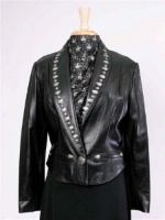 Renegade Spirit Ladies' Leather Jacket: Little Black Jacket
