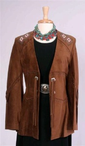 Renegade Spirit Ladies' Suede Jacket: Song of the West