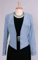 Renegade Spirit Ladies' Suede Jacket: Diamonds in the Sky