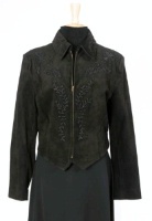 ZSold Renegade Spirit Ladies' Suede Jacket: Gibson Girl's Sister SOLD