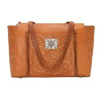 American West Handbag Annie's Secret Collection: Concealed Carry Zip Top Tote