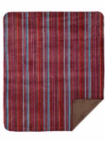 zSold Denali® Western Collection: Native Stripe Reverse Taupe Throw SOLD