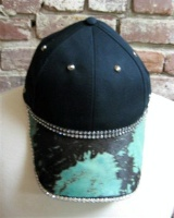 Pat Dahnke Signature Collection Chic Cap: Bling Cap Santa Fe Print Special Order