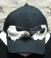 ZSold Pat Dahnke Chic Cap: Cap with Pony Print SOLD
