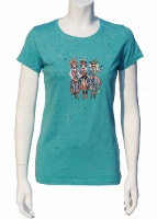 Jack Flash Tees: Cowgirls Saloon Girls SS, Tank S-2XL