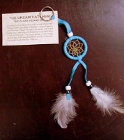 ZSold Navajo Dream Catcher: Key Ring or Key Chain Turquoise SOLD