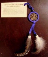 ZSold Navajo Dream Catcher: Key Ring or Key Chain Purple SOLD
