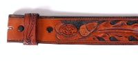 A Silver King: Belt Strap Acorn Pattern 44-48