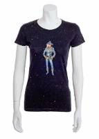 Jack Flash Tees: Cowgirl Stormy SS, Tank S-2XL
