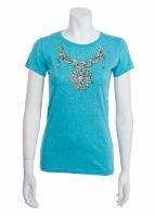 Jack Flash Tees: Cross Medallion Necklace SS, Tank S-2XL